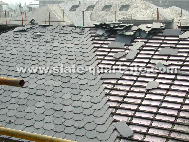 Roofing Slate Tile Installation Slate Roofs