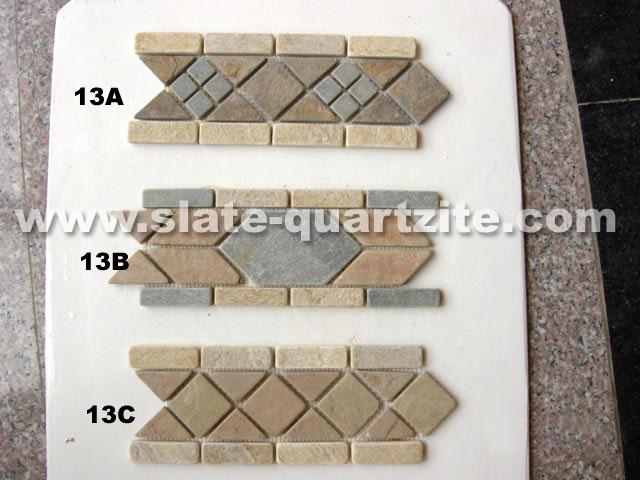 Code: Slate Mosaic Border 025
